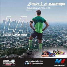 Corre con estos tenis 33 DFA edición limitada del maratón #ASICS de Los Angeles. Integrado con características que harán de tus carreras una experiencia más óptima y confortable. #Running