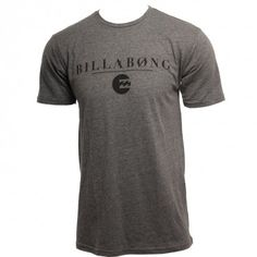 Billabong Mens Shirt Striker Dark Grey Heather #hansensurfboards  www.hansensurf.com