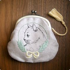 cute kitty purse