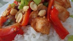 "Thai Orange Chicken | ""The family liked it. I added sliced peppers as other suggested. I would make it again"""