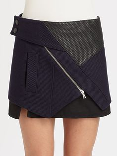 Stylish Wrap-Up: Get the Lowdown on These Must-Have Wrap Miniskirts!