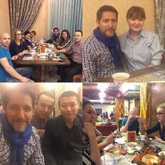 An amazing get together last night in #bishkek #kyrgyzstan with a group of old friends who gathered to greet me at a typical kyrgyz restaurant. We all met six years ago in my first trip to this beautiful country located in #CentralAsia. It was a true honor to see them all again. #ilovekyrgyzstan #bishkekrocks #ilovetraveling #mytripinpictures #kyrgyzstaninpictures by pedroultrerastv