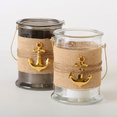 Home is where the anchor drops! #windlicht #windlight #gold #grey #glass #anchor #home #maritim #summer #boathouse