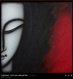 Rare Thoughts Art Gallery Lajjamayi Painting
