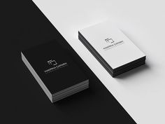 Business Card for Public Notary by elevenzebras