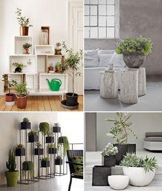 Doniczki, stojaki i kwietniki – rośliny w domu - zdjęcie 6