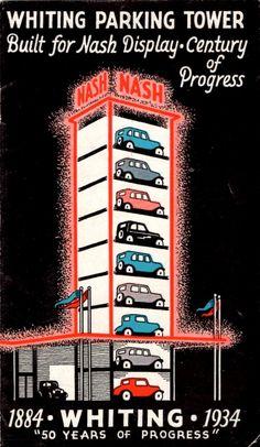 Aparcamiento en torre. Nash Motor Company