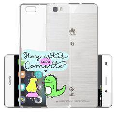 wonderful Rainbow unicorn NO HAY NADA IMPOSIBLE Donut Hard plastic Cover Case For Huawei P6 P7 P8 P8Lite P9 P9 Lite Cases