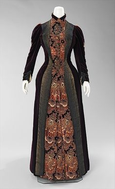 Dress    1888    The Metropolitan Museum of Art