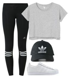 Adidasss by mariaroblesv on Polyvore featuring moda, adidas, adidas Originals y Monki