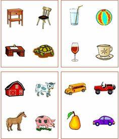 Vilka hör ihop? Farm Animals Preschool, Preschool Worksheets, Preschool Learning, Teaching Kids, Visual Perception Activities, 3 Year Old Activities, Hand Embroidery Videos, Autism Resources, Speech Therapy Activities