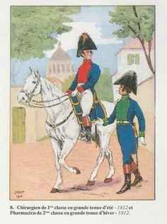 Napoleon Era Military Surgeon and Pharmacist