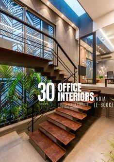 30 Best Office Interior design in India is a collection of amazing office designs around the country, with this E-Book we believe to provide design inspiration to the readers Also,well-curated designs from the most innovative and established design firms. Office Interior Design, Office Interiors, Interior Designing, Interior Decorating, Simple Rangoli Designs Images, Stair Design, Modern Office Design, Staircase Ideas, Design Firms