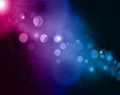 blue and purple bokeh abstract light background vector illustration