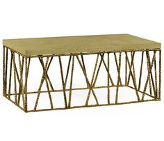 eb3c059cd2e62 Brass hammered coffee table with celadon top