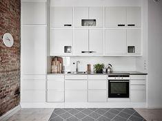 Свежий интерьер квартиры в Гетеборге (56 кв. м) | Пуфик - блог о дизайне интерьера