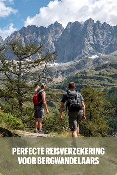 Dit is de perfecte reisverzekering voor bergwandelaars en bergsporters Hiking, Outdoor, Walks, Outdoors, Outdoor Games, Trekking, Outdoor Life, Climbing, Walking