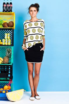 Coconuts, Pineapple, Skirts, Clothes, Collection, Black, Tops, Dresses, Fashion