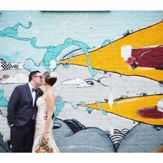 Urban wedding photos