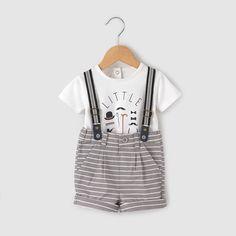 Ensemble T-shirt et short 1 mois-3 ans R baby