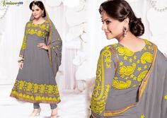#‎RANGOTSAV‬ OFFER : - Discount Promo RS. 250 OFF On Offer Price. Flat 10% OFF On Steel Grey Yellow Anarkali ‪#‎Suit‬. Pay Online and Save More Buy Now:- http://www.shoppers99.com/karishma_kapoor_anarkali_suits/steel_grey_yellow_anarkali_suit_t-496-745