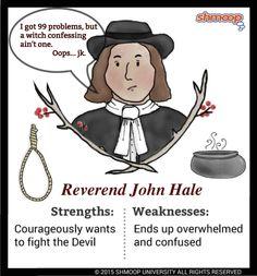 Reverend John Hale in The Crucible