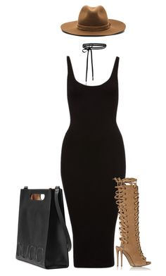 """""""Untitled #1829"""" by siedahsimmons ❤ liked on Polyvore featuring Gucci, Giuseppe Zanotti and rag & bone"""