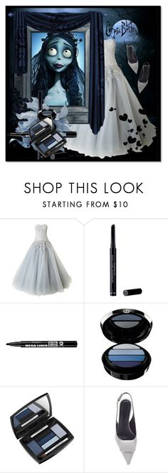 """Last-Minute Halloween Costumes"" by cly88 ❤ liked on Polyvore featuring Marchesa, Christian Dior, Bourjois, Giorgio Armani, Lancôme, Marni, Halloween, polyvorecontest, halloweencostume and lastminutecostume"