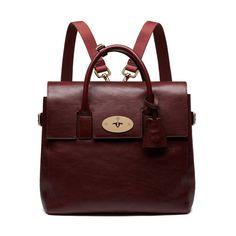 Cara Delevingne Bag in Oxblood Natural Leather | Cara Delevingne Collection | Mulberry