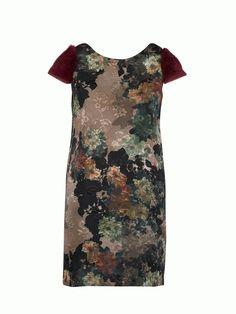 #imperialfashion #fw14 Dress with EcoFur >http://www.imperialfashion.com/scheda-AMN4OBV-D-98-9999-0