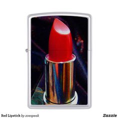 30% Off with code ZAZZLETHIRTY - Red Lipstick Zippo Lighter from ZoeSPEAK
