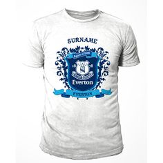 Personalised Everton T Shirt