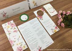 Identidade visual casamento - Galeria de Convites