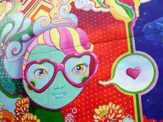 Ice Cream Daydream mural by Amanda Checco