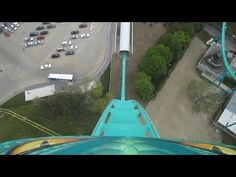 Leviathan Front Seat on-ride HD POV Canada's Wonderland