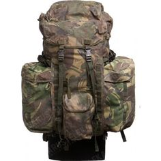 The core requirement of the Infantry Bergen is that it can comfortably hold loads of kit and be able to carry it around comfortably, the basic idea for an Infantry soldier, is that you'll live out of this huge rucksack on your back for extended more without re-supply (except water and ammunition).