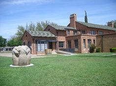 Museum of the Southwest - Midland, TX - One-time mansion haunted by the ghost of its former owner. (Image from website)  As a little girl before it became a museum, we trick or treated here and we had to walk up the long sidewalk to the door that was lined with trees (very scary)!