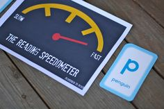 The Reading Speedometer. Fun way to help children recognize letters OR sight words more quickly. {Playdough to Plato}