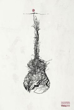 Pandora / Vistaprint by Jeff Langevin, via Behance