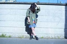 (jeudi★Style)NO.76 リュック♦FOG FEAR OF GOD Nylon Backpack BLACK ¥38,000円(TAX IN) http://jeudi-japan.com/?pid=113138814 ジャケット♦古着(私物) Tシャツ♦古着(私物) スカート♦古着(私物) ブーツ♦しまむら(私物)