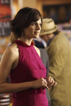TV SHOWS: Stana Katic on Castle (Season 1)