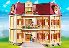 13 Best Dollhouses for Kids: Playmobil My Large Grand Mansion Dollhouse