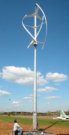 Quietrevolution wind turbine