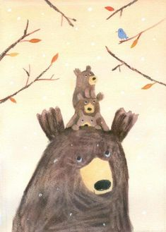 Leading Illustration & Publishing Agency based in London, New York & Marbella. Bear Art, Children's Book Illustration, Poster, Animal Drawings, Illustrators, Character Design, Deco, Artwork, Painting