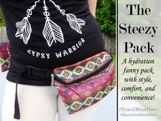The Steezy Pack is a fanny pack with a genius twist! When do people wear fanny packs the most? When they are traveling or on some sort of adventure, right? That is because it is convenient and hands-free. Let me ask you another question. When do people carry water bottles the most? When they aren't at home, obviously. They are walking around at an amusement park, music festival, or some other outdoor event, for the most part. I think you know where I am going with this. Read Full Review…