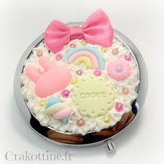 Miroir de sac Love Cookies