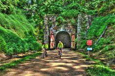 rockland wi, bike trail