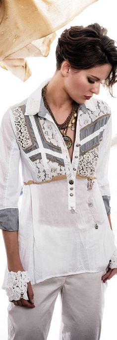 29 Lovely Outfits For Your Perfect Look This Fall - Luxe Fashion New Trends Fashion Details, Boho Fashion, Autumn Fashion, Womens Fashion, Fashion Design, Elisa Cavaletti, Cruise Fashion, Lace Outfit, Beautiful Blouses