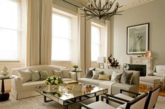 The Lancasters, Interior Living Room by Intarya