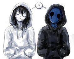 Jeff the Killer and Eyeless Jack - Creepypasta #jeffthekiller #eyelessjack #creepypasta